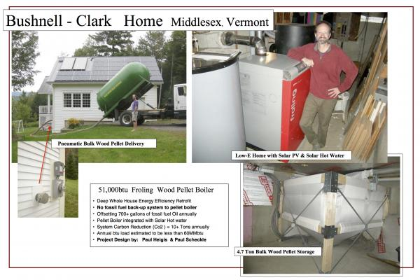 Vermont gasification wood pellet boiler installer